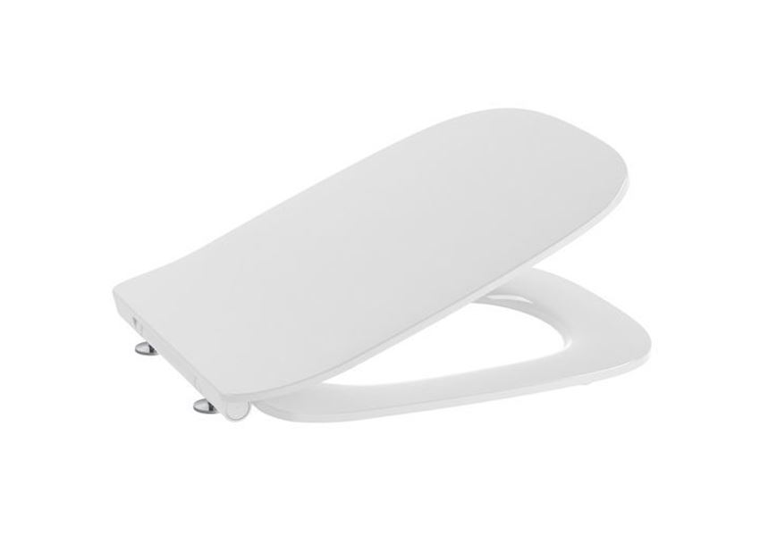 Deska WC Slim wolnoopadająca duroplast Roca Debba