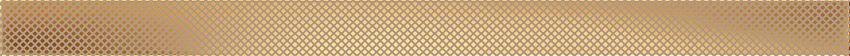 Listwa ścienna 60,8x4 cm Domino Selvo gold