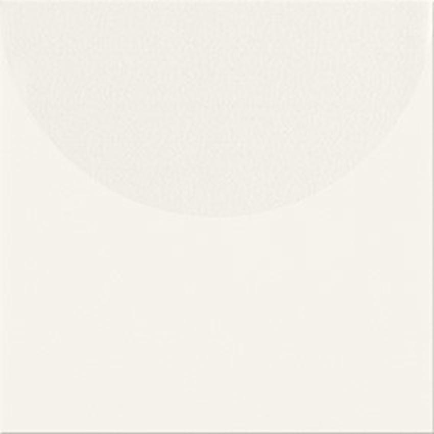 Płytka ścienna 20x20 cm Opoczno Monoblock White matt Geo A