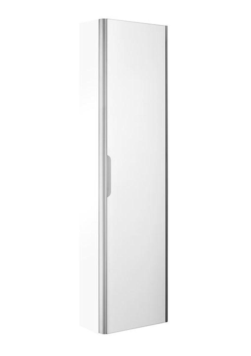 Biała kolumna wysoka 40,2x21,5x150 cm Roca Dama-N