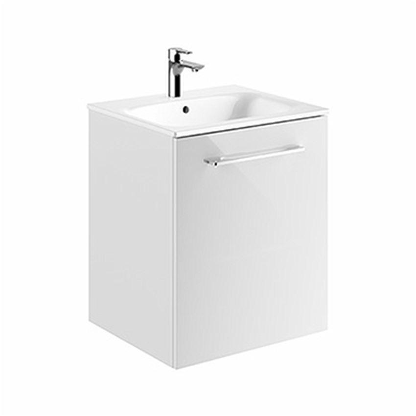 Szafka z umywalką biały połysk 55  Koło Nova Pro Premium