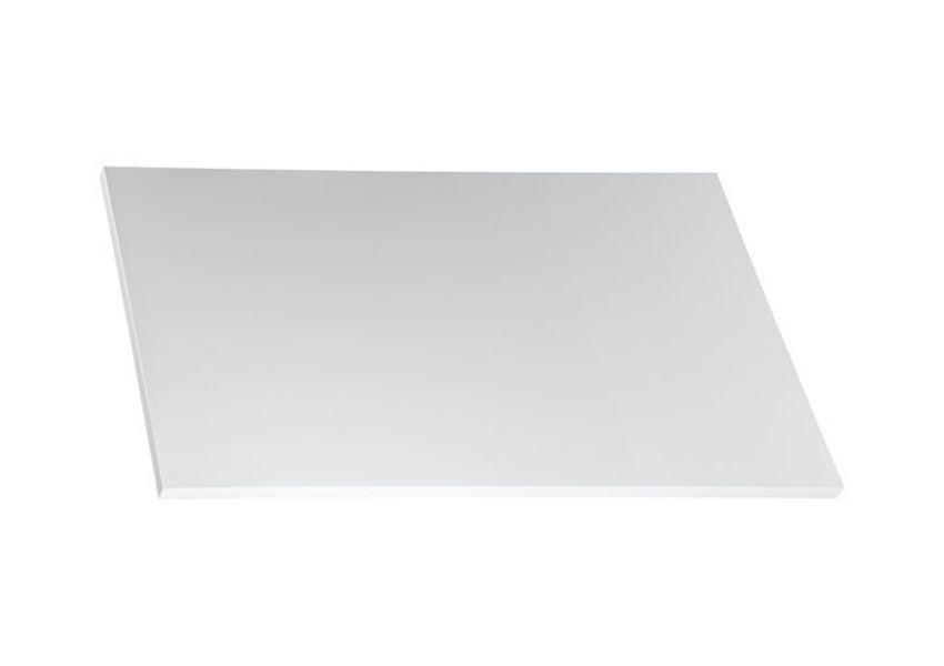 Blat do szafki umywalkowej biały połysk 80x46 cm Roca Victoria Basic