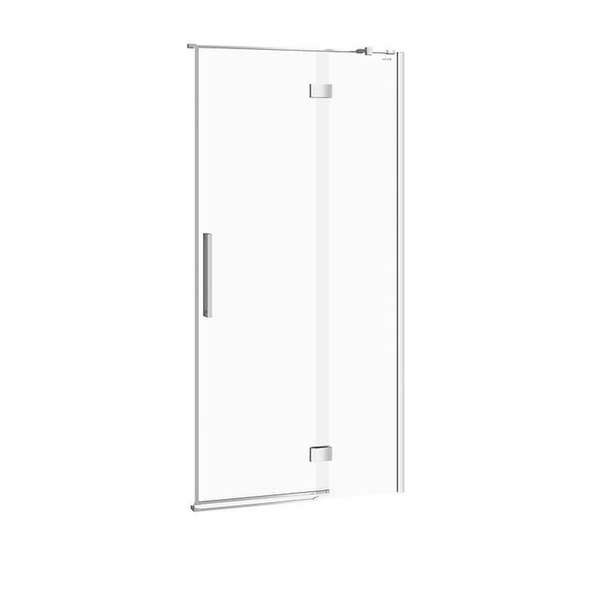 Drzwi prysznicowe na zawiasach prawe 100x200 cm Cersanit Crea