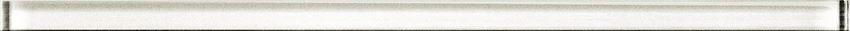 Listwa ścienna 1,5x40 cm Cersanit Glass white border new
