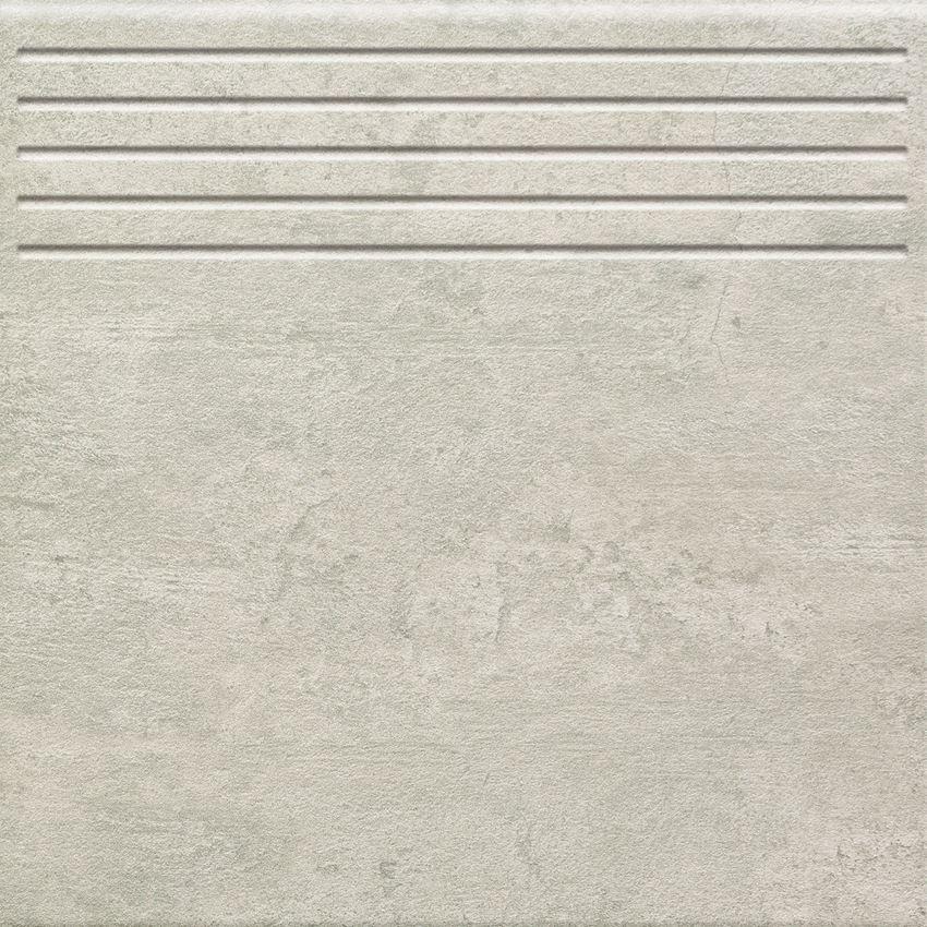 Stopnica 33,3x33,3 cm Domino Gris szary