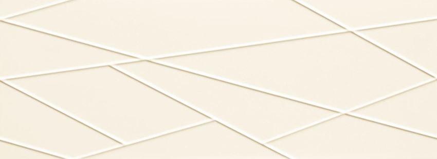 Płytka ścienna 89,8x32,8 cm Tubądzin House of Tones white A STR