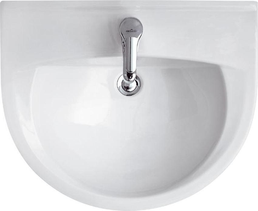 Umywalka wisząca 60 cm z otworem Cersanit President