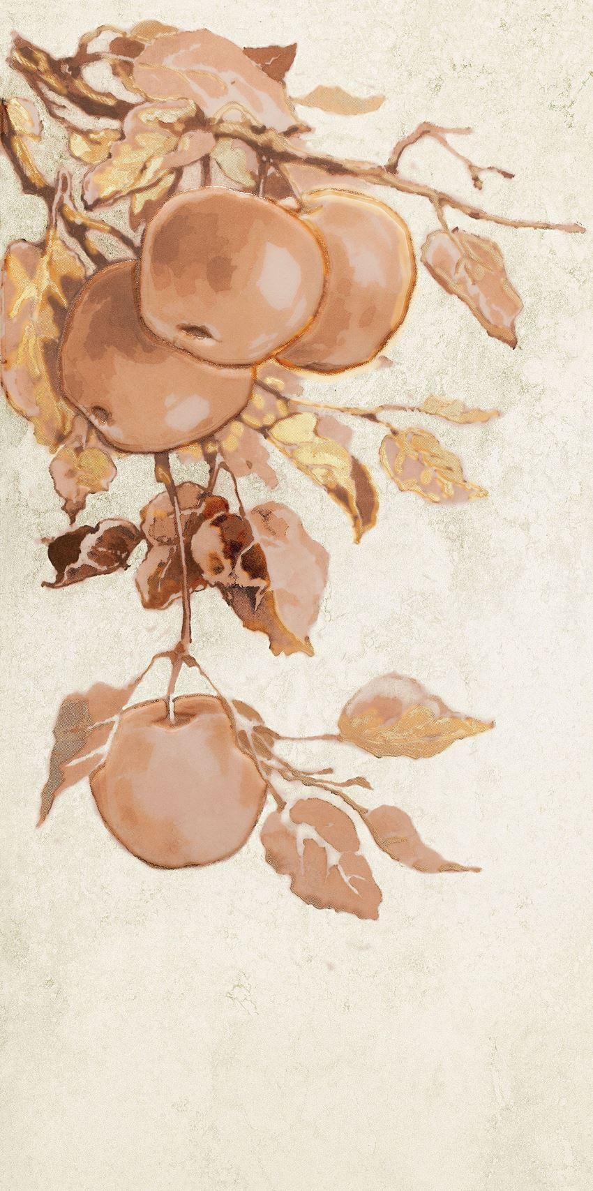 Dekor ścienny 44,8x22,3 cm Domino Enna Fruits apple