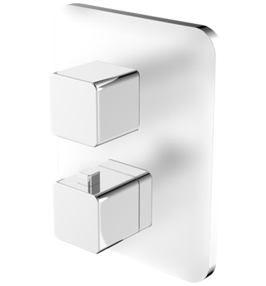 Bateria wannowa podtynkowa termostatyczna Omnires Parma