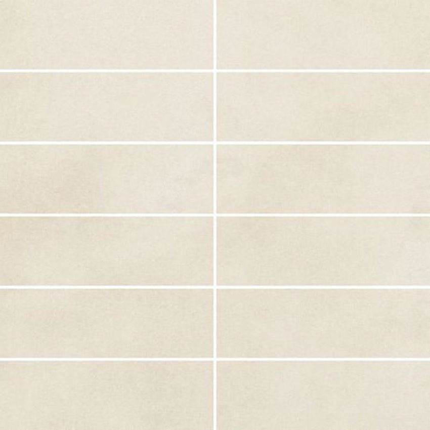 Paradyż Tecniq Bianco mozaika cięta
