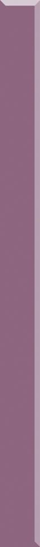 Listwa 3x40 cm Paradyż Uniwersalna Listwa Szklana Wrzos