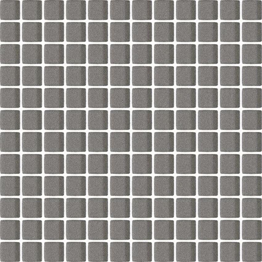 Mozaika szklana 29,8x29,8 cm Paradyż Uniwersalna Mozaika Szklana Grafit