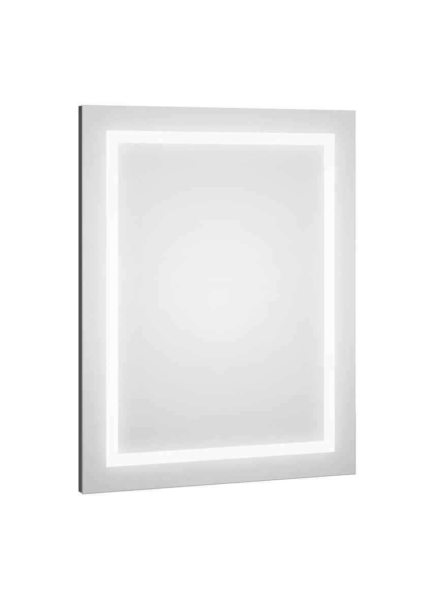 Lustro 80x60x2,9 cm grafit mat Defra Dot Led