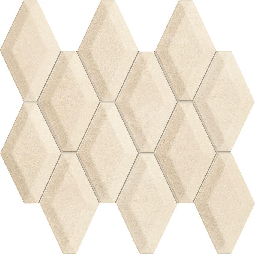 Mozaika ścienna 30,5x30,3 cm Tubądzin Veridiana beige
