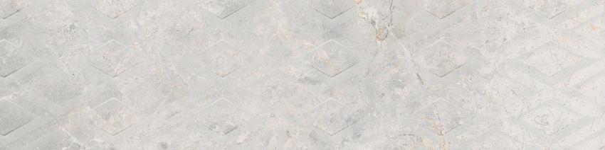 Płytka dekoracyjna 29,7x119,7 cm Cerrad Masterstone White geo