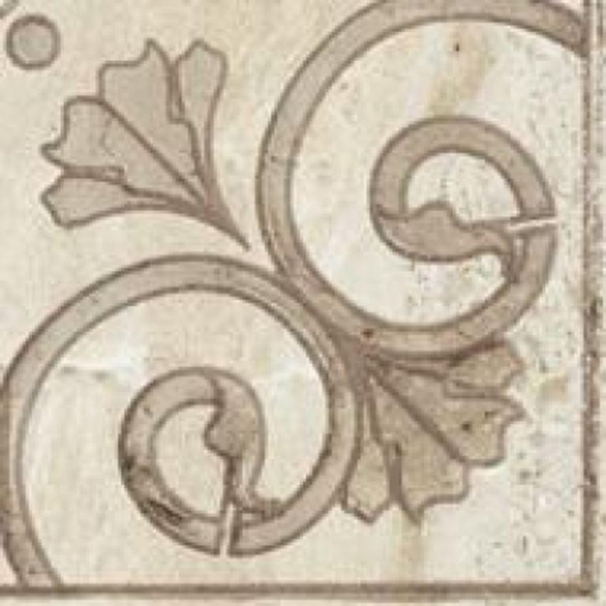 Płytka dekoracyjna 8x8 cm Paradyż Pavi Beige Narożnik Mat