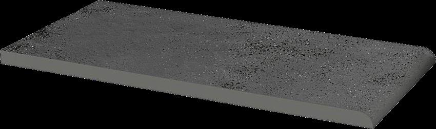 Płytka elewacyjna 14,8x30 cm Paradyż Semir Grafit Parapet