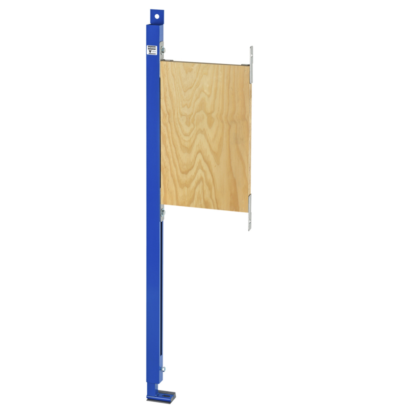 Stelaż podtynkowy do mocowania poręczy i uchwytów w łazienkach bez barier w układzie lewostronnym Franke Aquafix