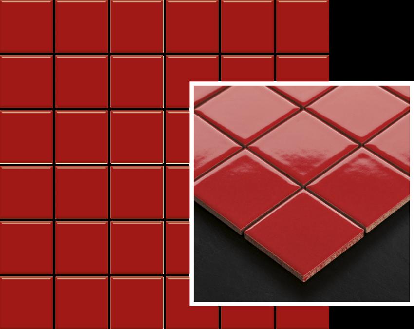 Mozaika 29,8x29,8 cm Paradyż Altea Rosa Mozaika Prasowana K.4,8X4,8