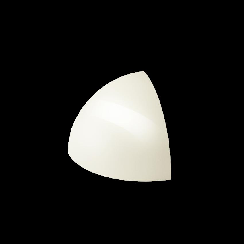 Płytka dekoracyjna 3x3 cm Paradyż Gamma Bianco Kształtka E Połysk
