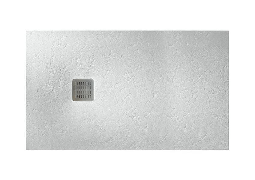 Brodzik kompozytowy STONEX® 160x100x3,1 cm złamana biel Roca Terran