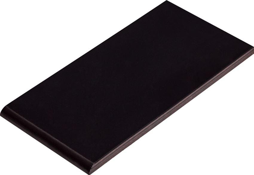 Płytka parapetowa 13,5x24,5 cm Cerrad Nero