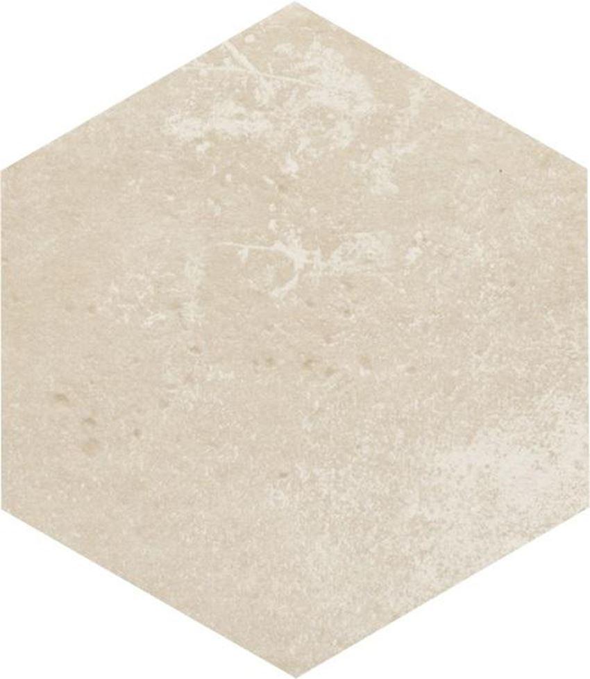 Płytka podłogowa 26x26 cm Paradyż Cotto Crema Heksagon