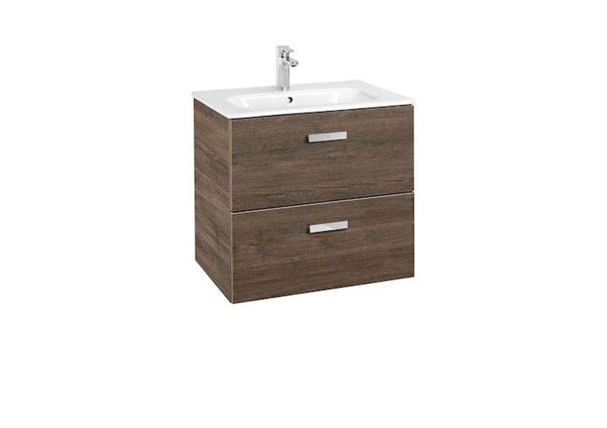 Zestaw łazienkowy Unik z 2 szufladami 60x46x56,5 cm Roca Victoria Basic