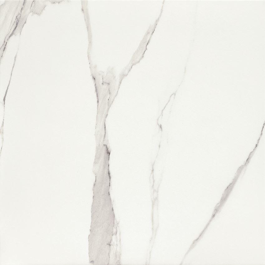Płytka podłogowa gres szkliwiony 61x61 cm Domino Bonella white