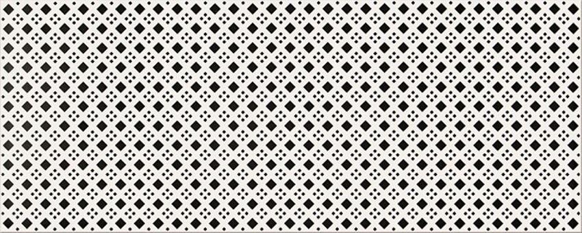 Płytka dekoracyjna 20x50 cm Opoczno Black&White Pattern D
