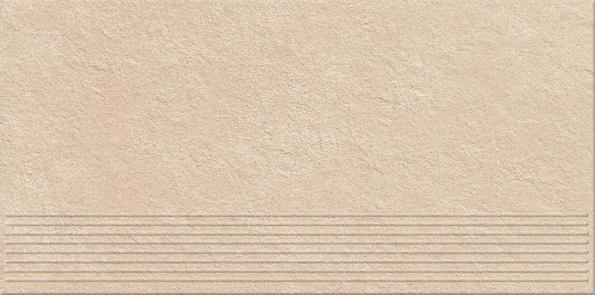 Płytka stopnicowa 29,55x59,4 cm Opoczno Dry River Cream Steptread