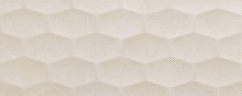 Dekor ścienny 74,8x29,8 cm Tubądzin Belleville white