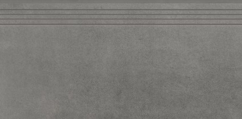 Płytka stopnicowa 39,7x79,7 cm Cerrad Concrete graphite