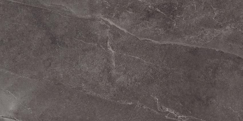 Płytka podłogowa 59,8x119,8 cm Tubądzin Grand Cave Graphite STR