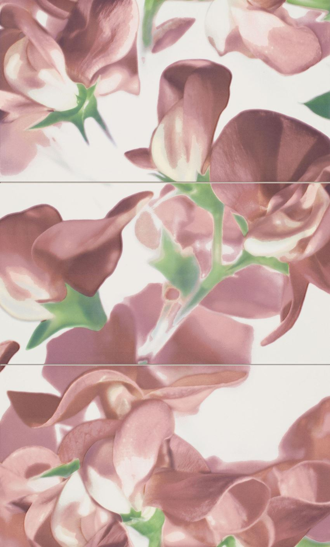 Dekor ścienny Tubądzin Colour Bloom Carmine