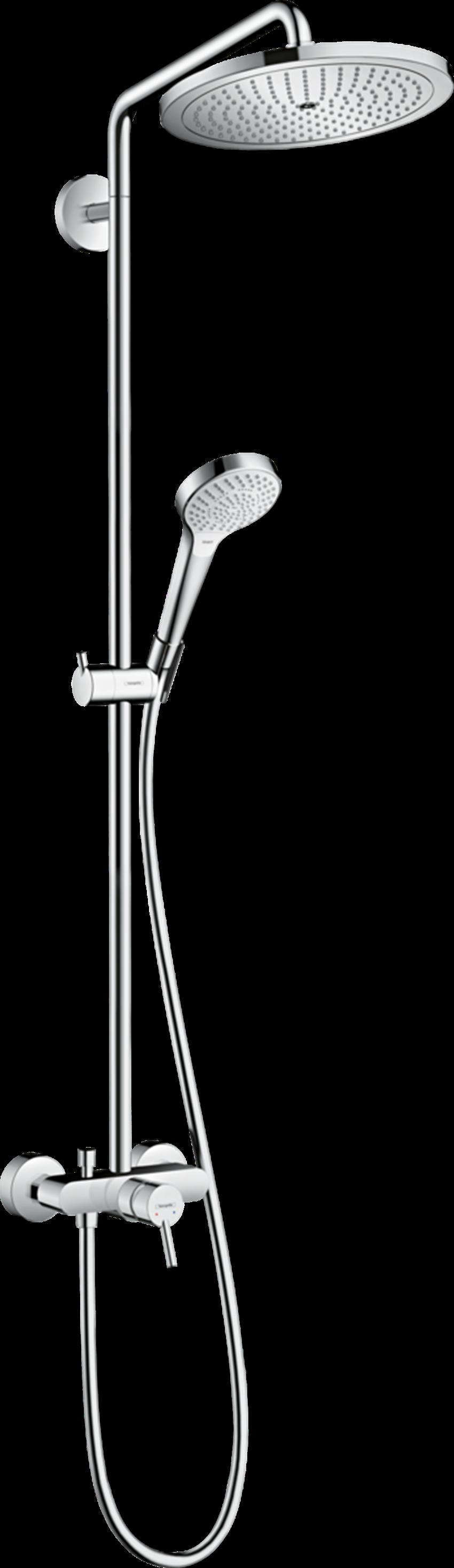 Komplet prysznicowy 280 1jet z baterią jednouchwytową Hansgrohe Croma Select S