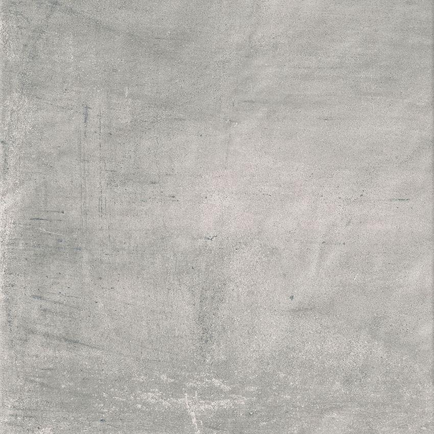 Płytka ścienno-podłogowa 59,8x59,8 cm Paradyż Hybrid Stone Grys Gres Szkl. Rekt. Struktura