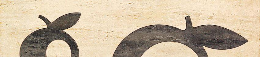 Listwa ścienna 36x8 cm Domino Toscana beż Apple