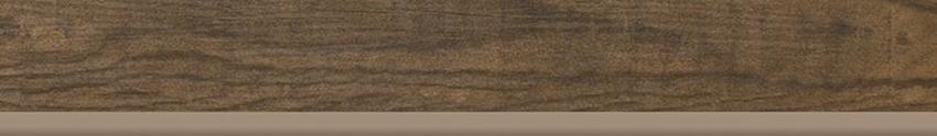 Płytka cokołowa 7,2x49,1 cm Paradyż Hilton Brown