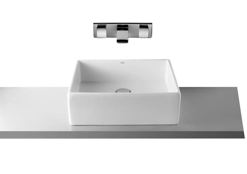 Umywalka nablatowa 46,5x41,5x14,5 cm Roca Sofia