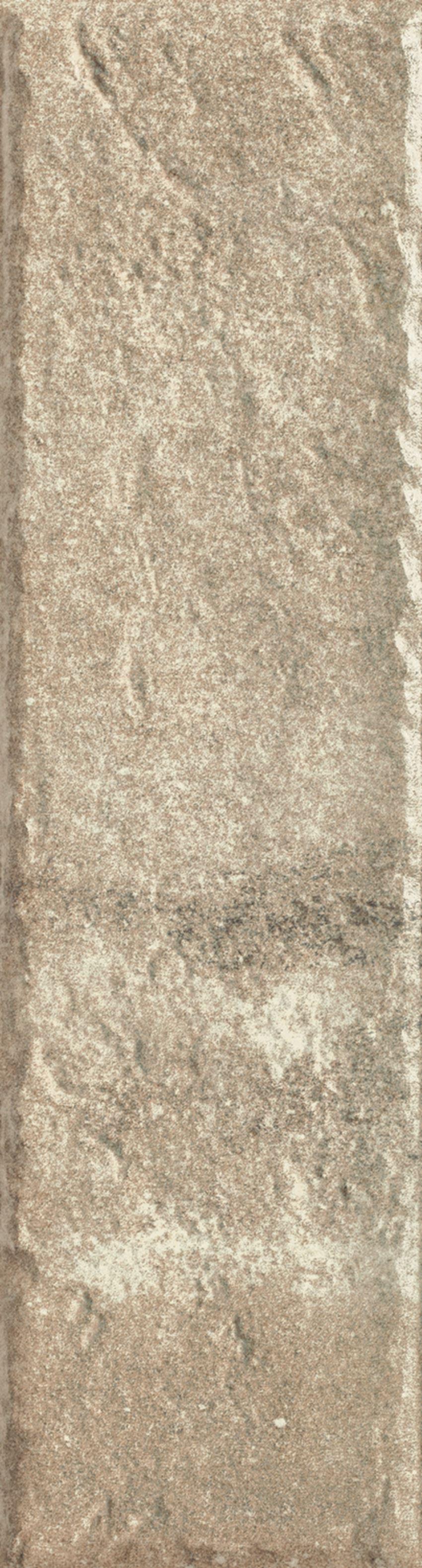 Płytka elewacyjna 6,6x24,5 cm Paradyż Scandiano Ochra Elewacja 24,5X6,6