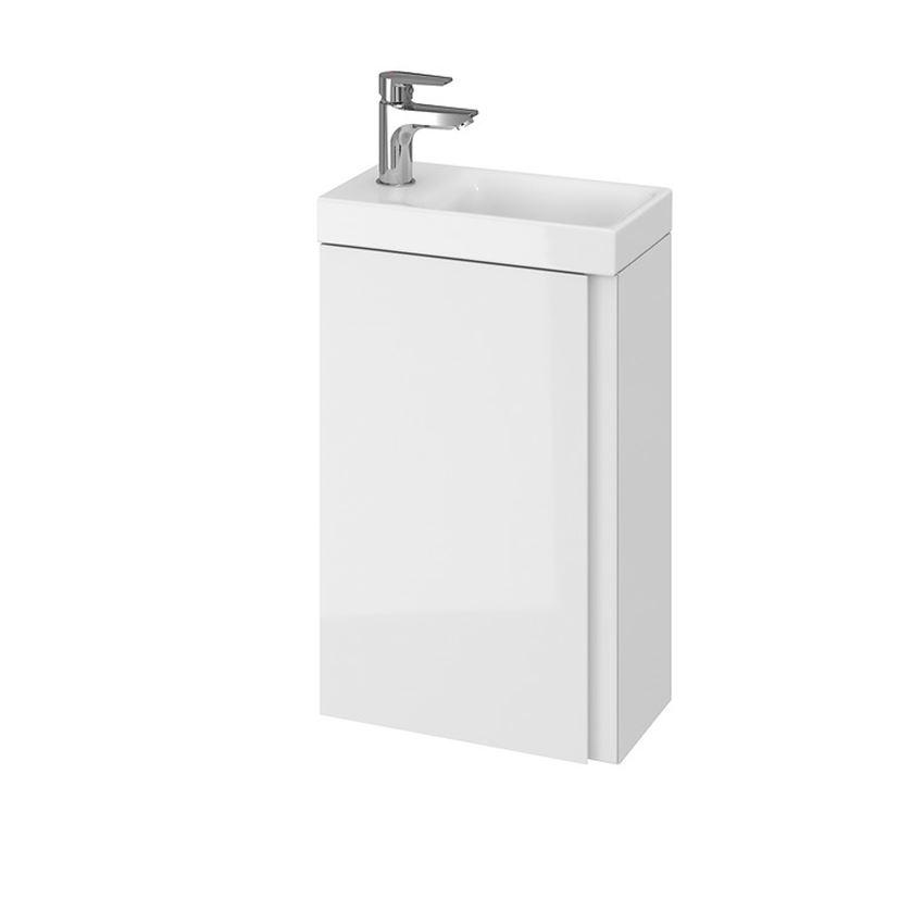 Szafka z umywalką 40 biała Cersanit Moduo