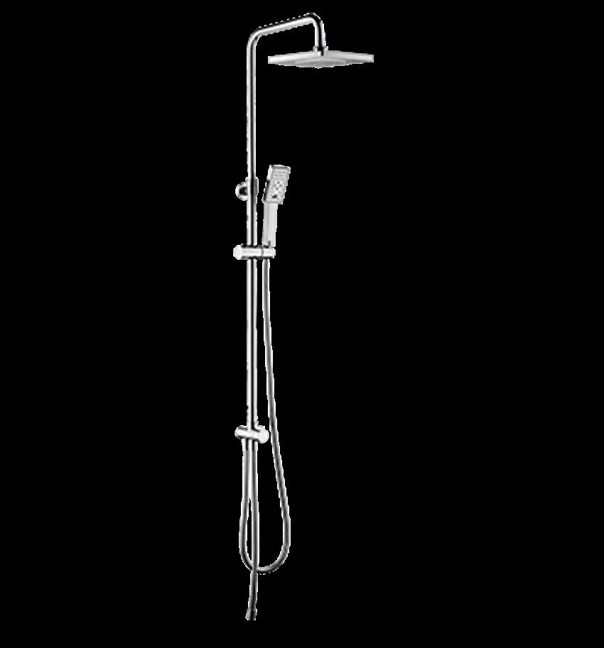 System prysznicowy natynkowy Omnires JimJim