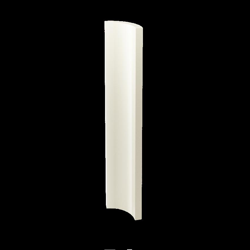Płytka dekoracyjna 3x19,8 cm Paradyż Gamma Bianco Kształtka A Połysk