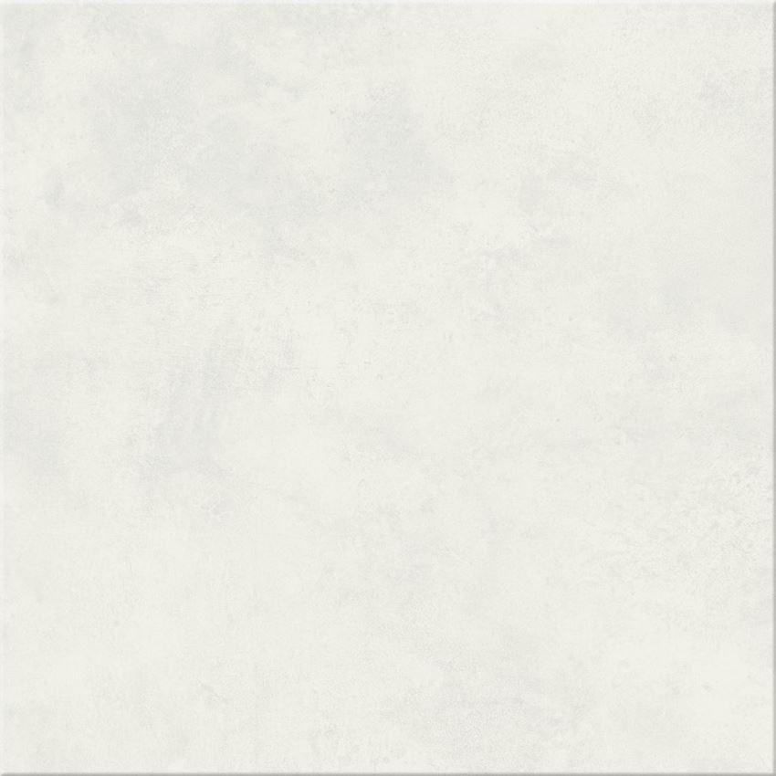 Płytka podłogowa 42x42 cm Cersanit Gpt447 white satin