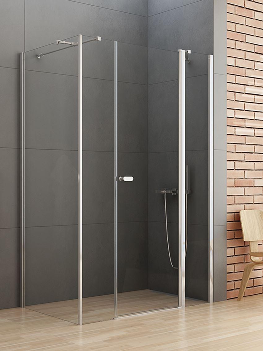 Kabina prysznicowa z drzwiami wahadłowymi New Trendy New Soleo