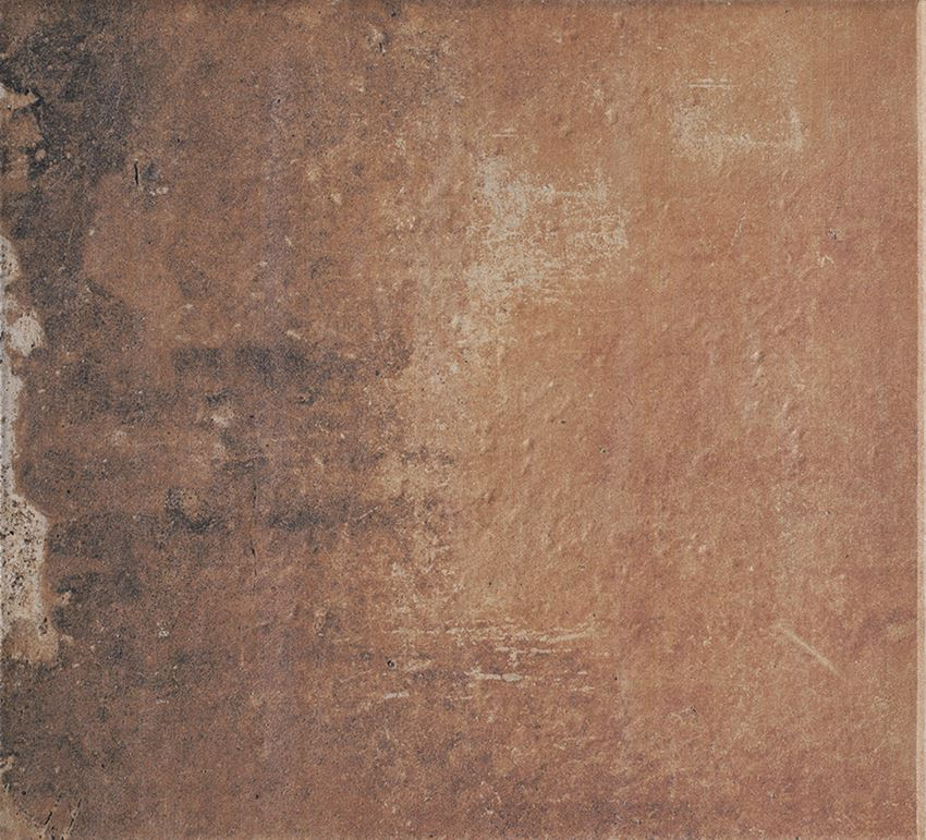 Płytka stopnicowa 30x33 cm Paradyż Scandiano Rosso Kapinos Stopnica Prosta