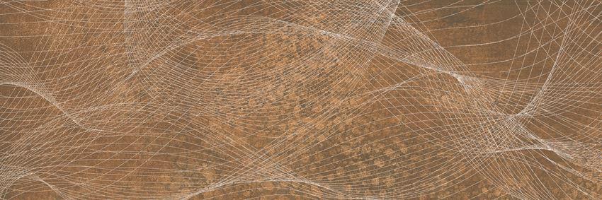 Płytka dekoracyjna 25x75 cm Paradyż Freedom Rust Ściana Rekt. Dekor