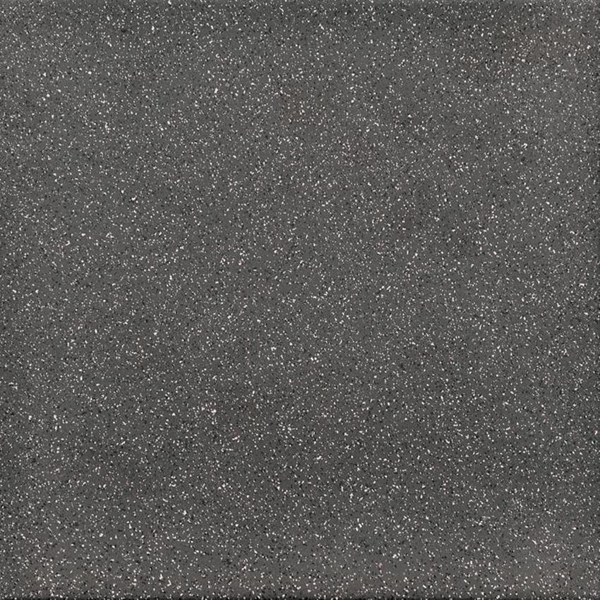 Płytka ścienno-podłogowa 30x30 cm Paradyż Bazo Nero Gres Sól-pieprz Matowa