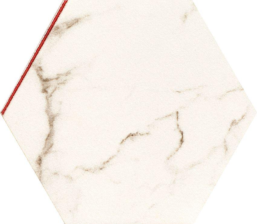 Płytka ścienno-podłogowa 22,1x19,2 cm Tubądzin Madeleine Heksagon 2